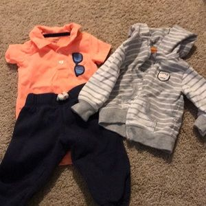 Carters Cutie Crew Outfit